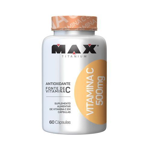 Vitamina C 500mg - 60 Cápsulas- Max Titanium