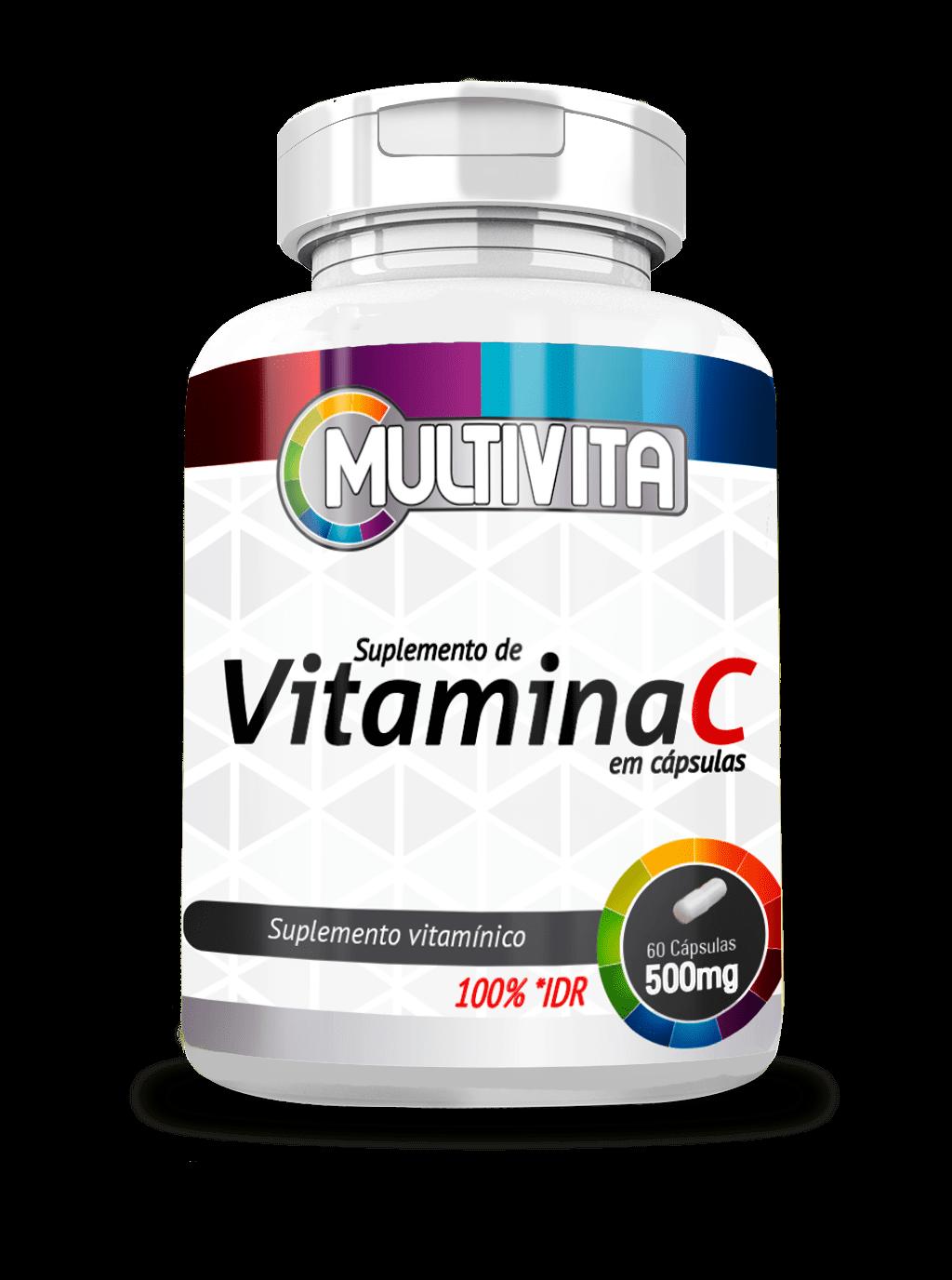 Vitamina C 60 Cápsulas