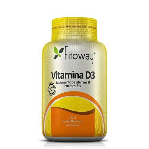 Tudo sobre 'Vitamina D3 200 UI - 60 Cáps'