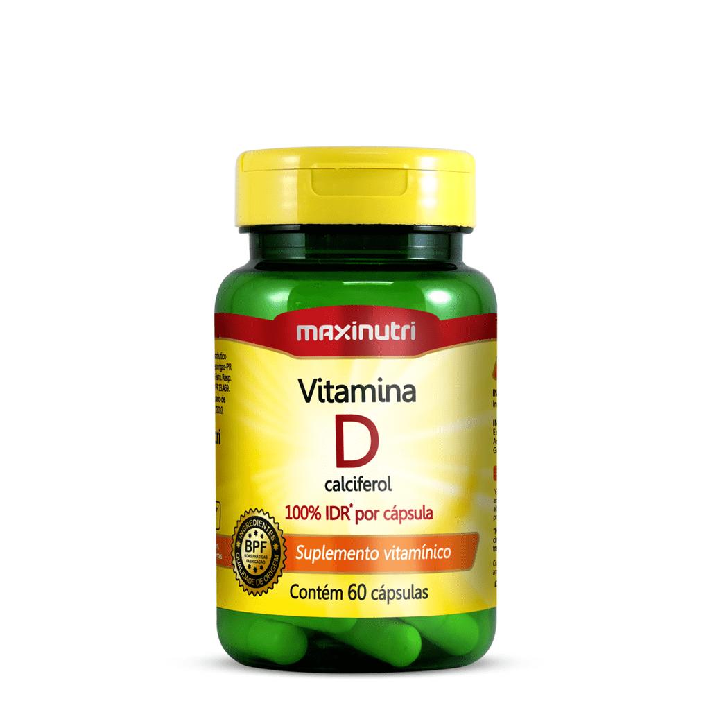 Vitamina D 100% Idr - 60 Caps