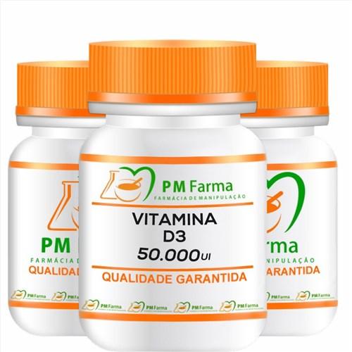 Vitamina D3 50.000 Ui 12 Capsulas