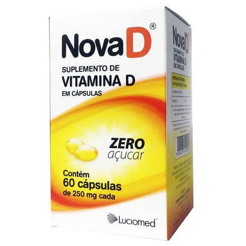 Vitamina D Luciomed 60 Caps