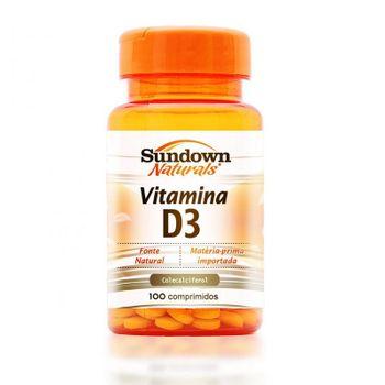 Tudo sobre 'Vitamina D3 Sundown 100 Comprimidos'