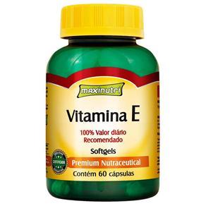 Vitamina e 10mg Maxinutri - 60 Cápsulas