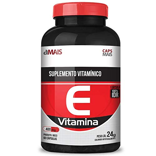 Vitamina e 400mg Chá Mais 60 Cápsulas