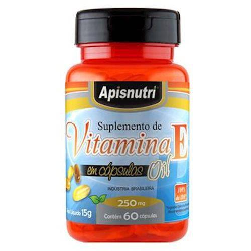 Vitamina e 60 Caps 250 Mg