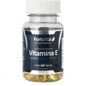Vitamina e 60 Cápsulas - Fortvitta - SEM SABOR