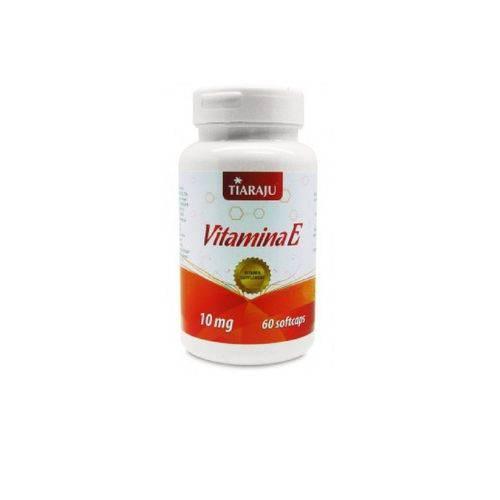 Vitamina e - Tiaraju - 60 Cápsulas 10mg