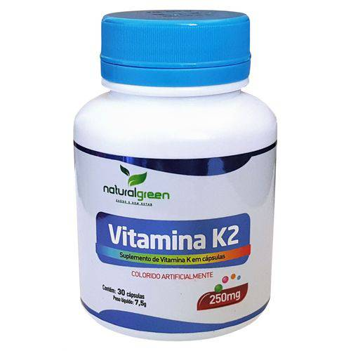 Vitamina K2 com 30 Cápsulas