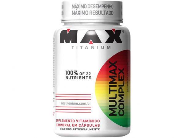 Vitamina Multimax Complex 60 Cápsulas - Max Titanium