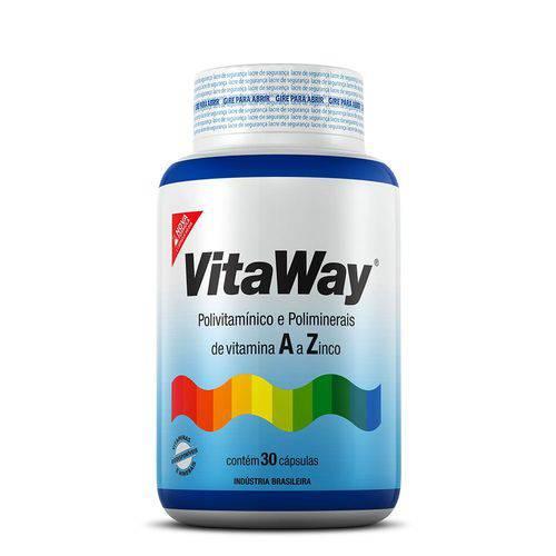 Tudo sobre 'Vitaway 100% Idr - 30 Caps'