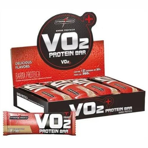 VO2 Protein Bar - 12 Unidades (1cx.) - IntegralMedica
