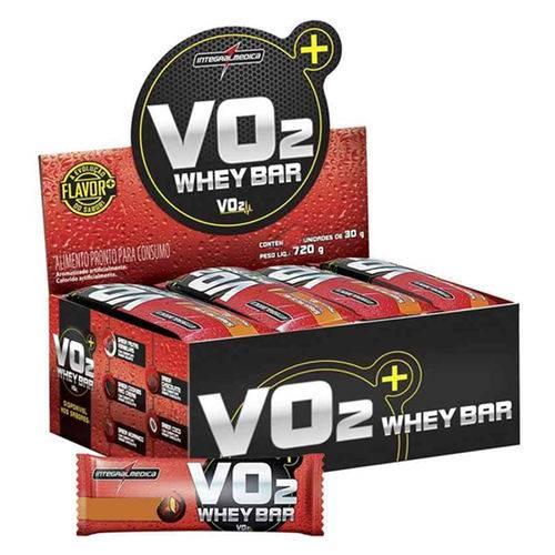 Vo2 Protein Bar 12 Unidades - Integral Médica - Sabor Chocolate