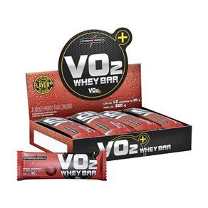 Vo2 Protein Bar 12 Unidades - Morango