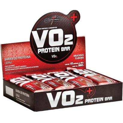 VO2 Protein Bar C/ 12 Barras - IntegralMédica