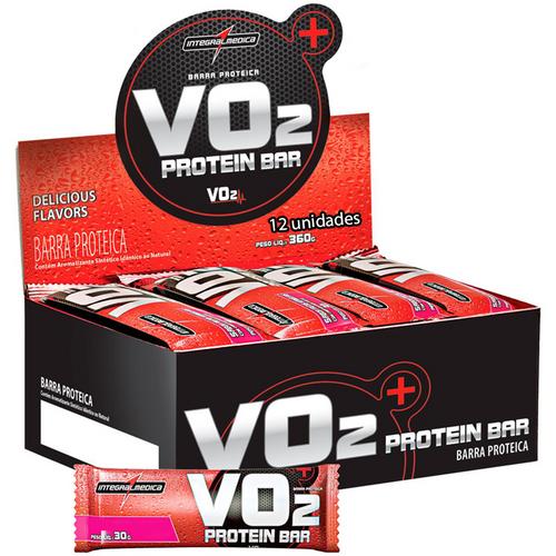 Vo2 Protein Bar Cx 12unid. Integralmédica