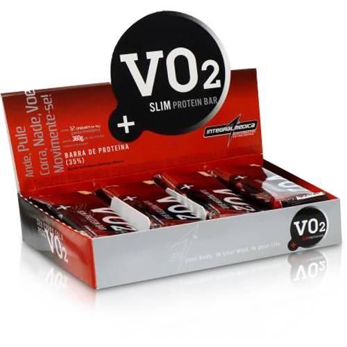 Vo2 Slim Protein Bar (12 Barras de 30g) - Coco C/ - Bodytrends Comer Suplem Alimentares Ltda