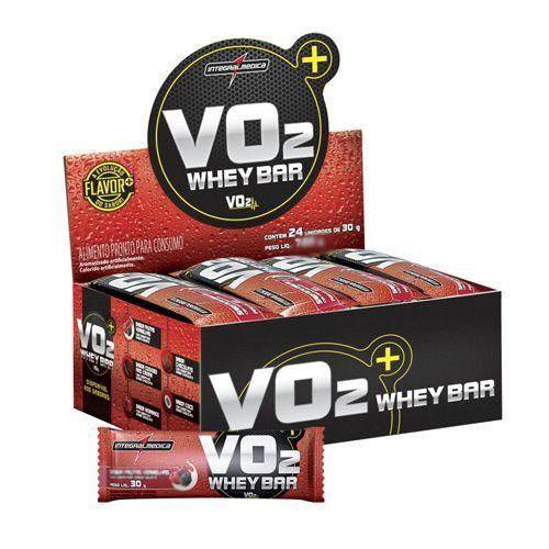 Vo2 Whey Bar Cookies - 12 Unidades de 30g - Integralmédica