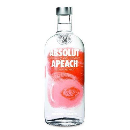 Tudo sobre 'Vodka Absolut Apeach 1l'