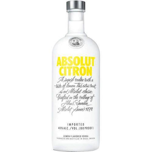 Tudo sobre 'Vodka Absolut Citron 1l'
