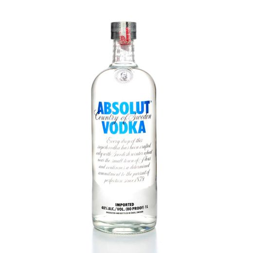 Tudo sobre 'Vodka Absolut Natural 1L'