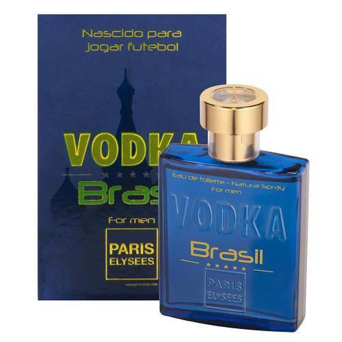 Vodka Brasil Azul (animale) Eau de Toilette Paris Elysees - 100ml