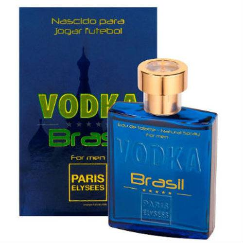 Vodka Brasil Azul Eau de Toilette Paris Elysees - Perfume Masculino 100ml