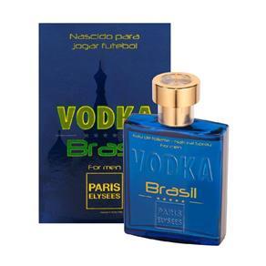 Vodka Brasil Azul Paris Elysees Eau de Toilette Perfumes Masculino - 100ml