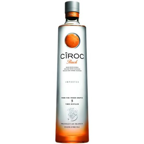 Vodka Ciroc Peach 750 Ml