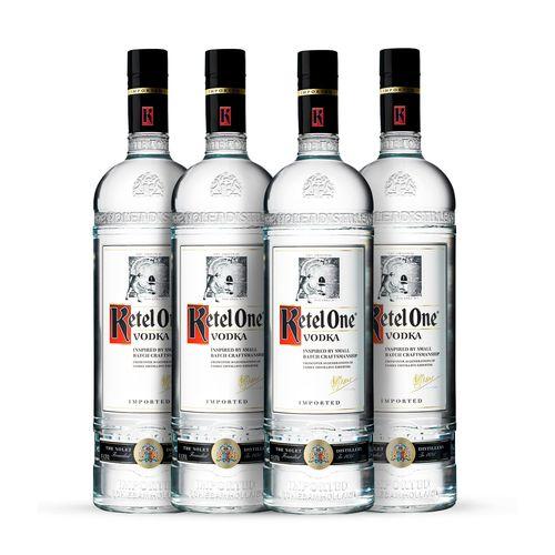 Vodka Ketel One 4x 1000ml