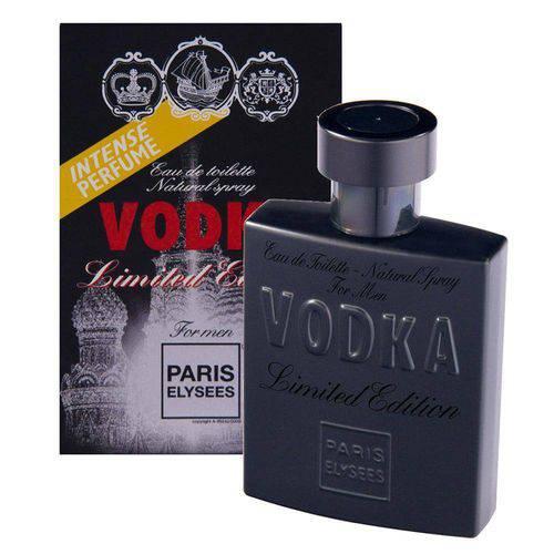 Vodka Limited Edition Eau de Toilette Paris Elysees - Perfume Masculino 100ml