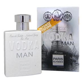 Vodka Man Paris Elysees Eau de Toilette Perfumes Masculino - 100ml