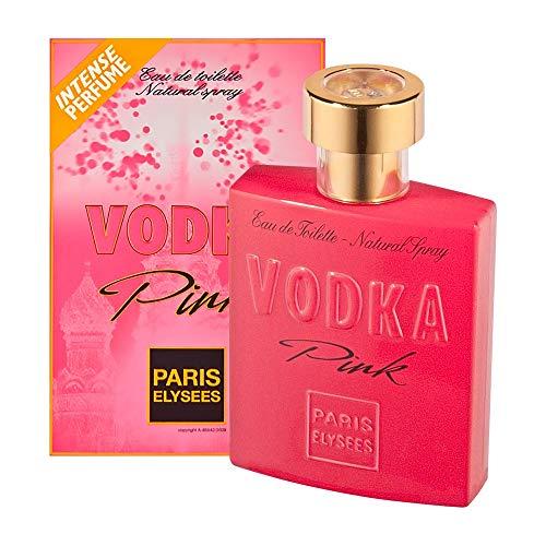 Vodka Pink de Paris Elysees Eau de Toilette Feminino 100 Ml