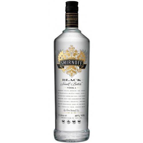 Vodka Smirnoff Black 1000 Ml
