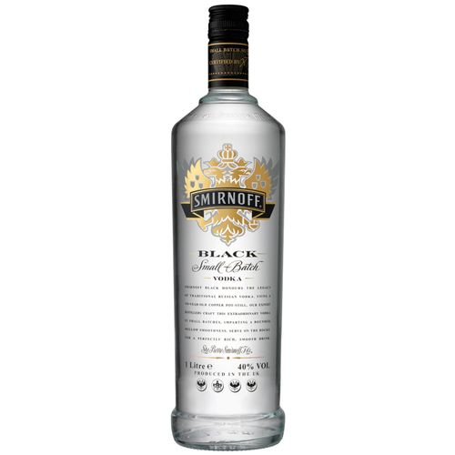 Vodka Smirnoff Black 1l