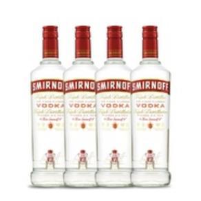 Vodka Smirnoff Red 4x 998ml