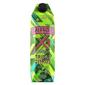 Vodka X1 Triple Citrus 1 Litro - Smirnoff