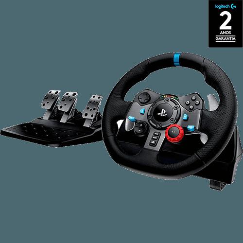 Tudo sobre 'Volante Gamer G29 - PS4 PS3 e PC - Logitech'
