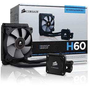 Water Cooler Hydro Series - H60 - Radiador 120Mm High Performance - Cw-9060007-Ww - Corsair