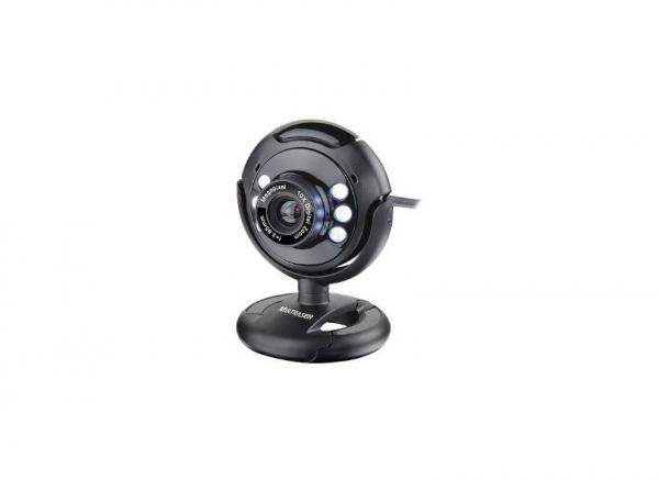 Webcam Plug e Play 16Mp NighTVision Microfone USB - WC045 - Multilaser