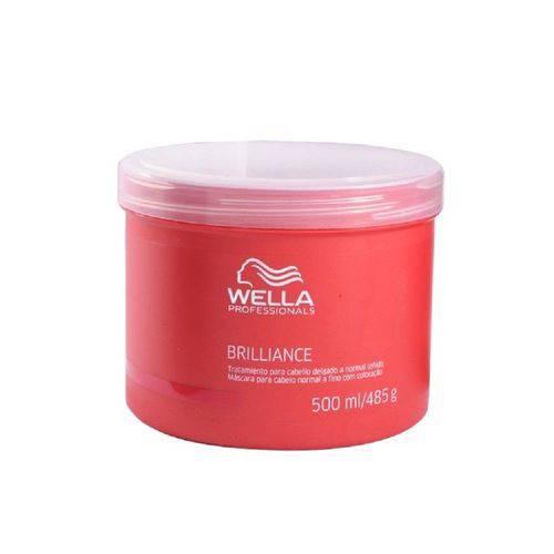 Tudo sobre 'Wella Professionals Brilliance Máscara Cabelos Finos 500 Ml'