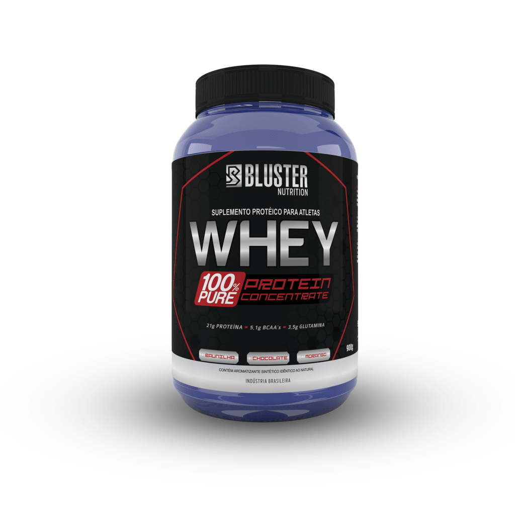 Whey 100% Pure 900G - Bluster (CHOCOLATE)