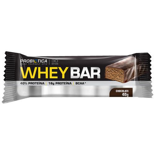 Whey Bar - 01 Unidade - Probiótica