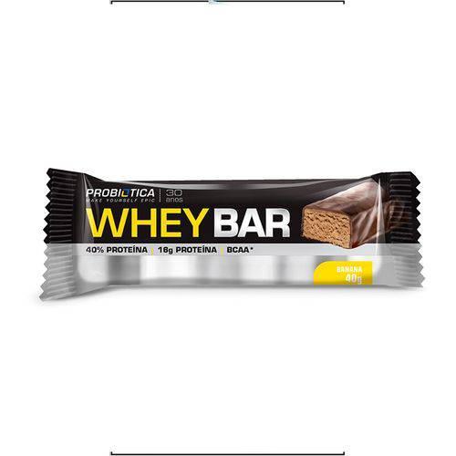 Whey Bar 1 Unid 40g Probiótica