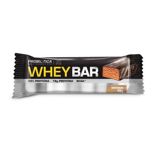 Whey Bar - (1unidades 40g) - Probiótica