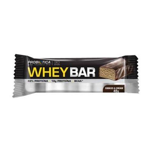 Whey Bar Cookies 40g - Probiótica