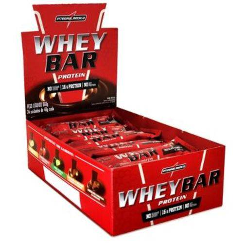 Whey Bar (Cx C/24) - Integralmédica