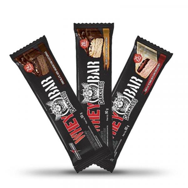 Whey Bar Darkness 90g - Integralmedica