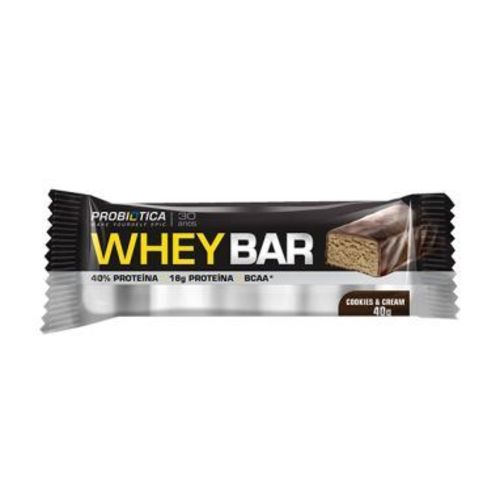 Whey Bar Low Carb 40g Probiótica