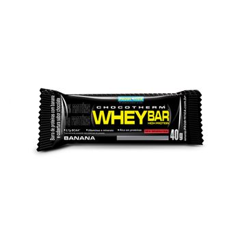 Whey Bar Low Carb Probiotica Banana 40g